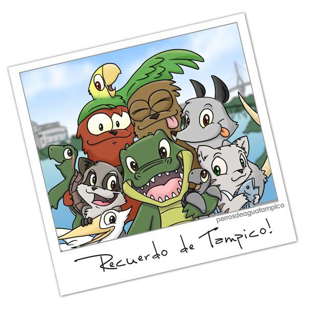 ¿Que es Perros de Agua Tampico? Es un proyecto de historietas, cuentos y actividades de valores y ecología, presentado por animales que viven en la zona sur del estado de Tamaulipas; ...