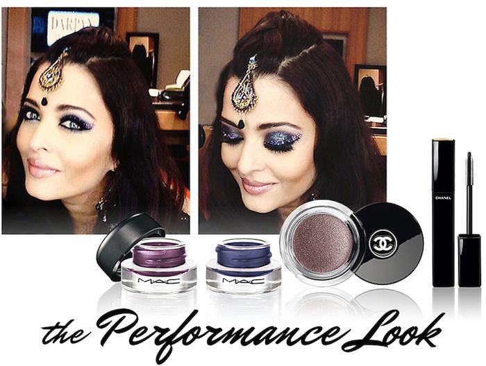 Get the look! Aishwarya Rai's makeup artist gives us the exclusive on creating her sparkling, smokey eye look from #TOIFA!