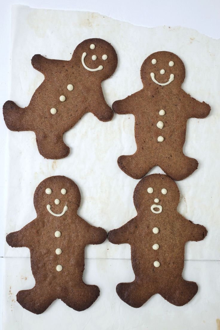 Gluten Free Gingerbread Men  : The Healthy Chef – Teresa Cutter
