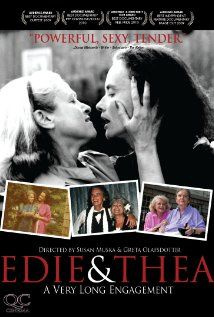 After 42 years, feisty and delightful lesbian couple Edie and Thea are finally getting married. From the early '60s to the present day, the tireless community activists persevere through many battles, both personal and political. Susan Muska and Greta Olafsdottir (THE BRANDON TEENA STORY) return with a love story of two remarkable women whose commitment to each other is an inspiration to us all.