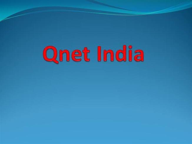 Qnet India by painal via authorSTREAM