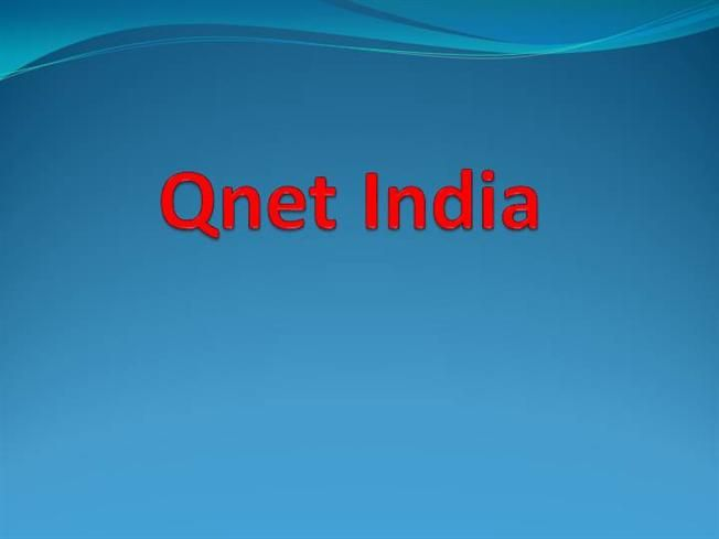 Qnet India by painal via authorSTREAM