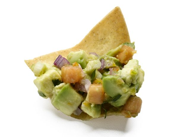 Spicy Papaya Guacamole : Try adding some diced papaya to your guacamole for a fun addition. The creamy and sweet papaya pairs perfectly with smooth avocado and spicy habanero chiles.