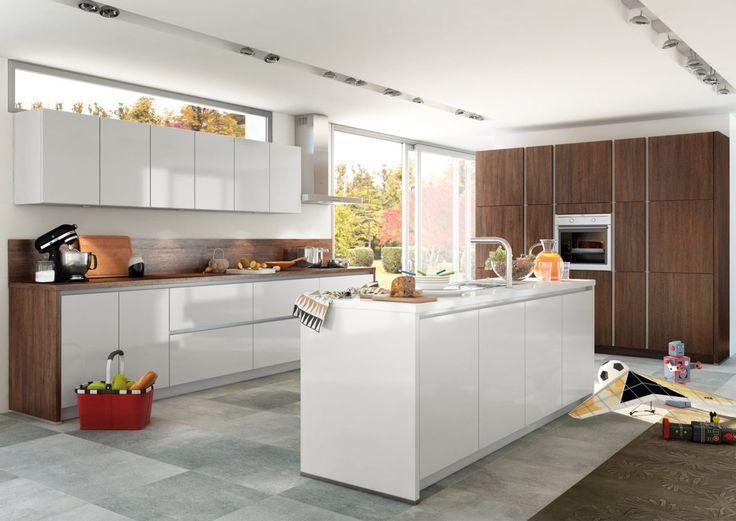Crystal Grey Handleless Kitchen Part 69