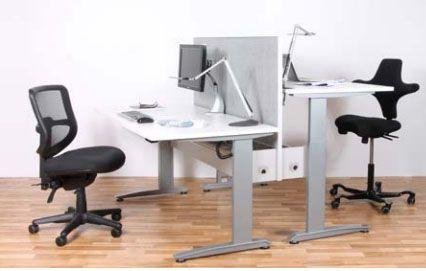 Convertible office desks