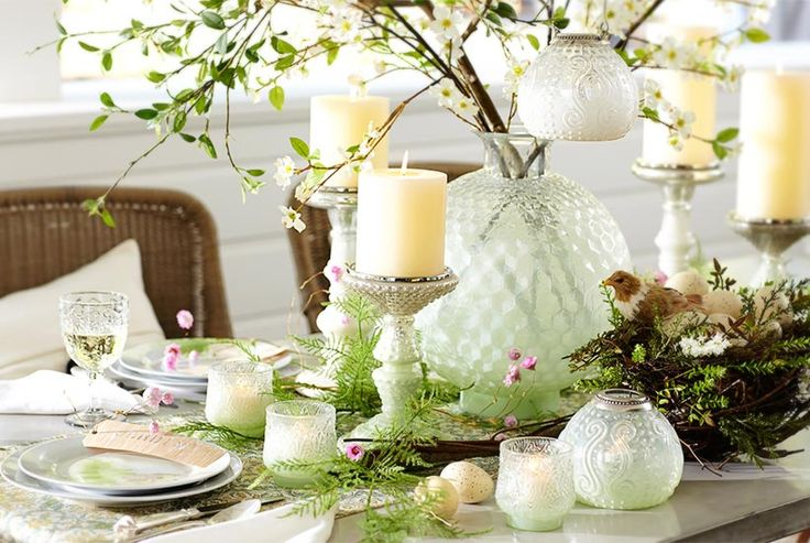 Pottery Barn | Easter 2014 Tablescape
