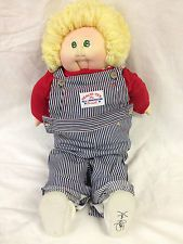 Cabbage Patch Soft Sculpture Doll, Sign Xavier Roberts Little People 1984