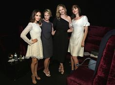 Mary Stuart Masterson Photos Photos - Actresses Rachel Leigh Cook, Mary Stuart Masterson and Judy Greer and filmmaker Ry Russo-Young attend the 2016 Tribeca Film Festival Awards Night on April 21, 2016 in New York City. - 2016 Tribeca Film Festival Awards Night - Show