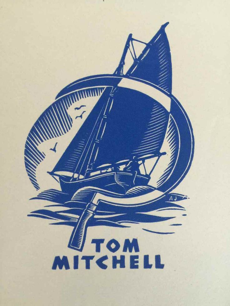 EX LIBRIS BOOKPLATE AUSTRALIAN Allan Jordan 1898-1982 Tom Mitchell | eBay