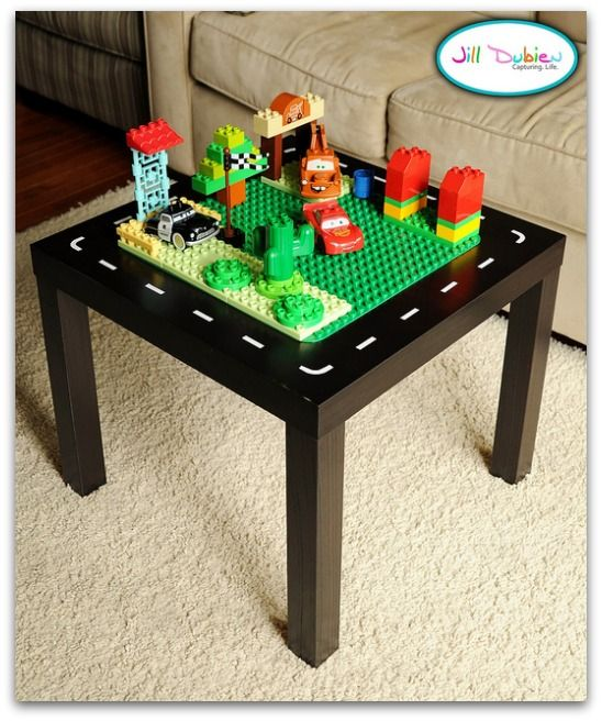 Ikea Lego Table Hack $9.99