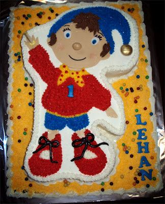 Delana's Cakes: 2D Noddy Cake