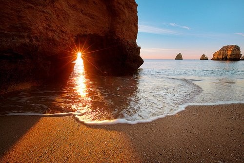 SUNSET: At The Beaches, Sands, Lake Portugal, Beautiful, Sea, Sunsets Beaches, Places, Travel, Beaches Vacations