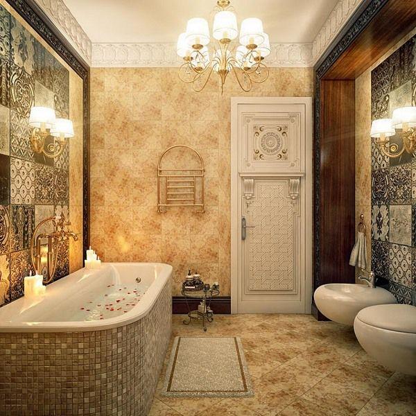 A beautiful bathroom!