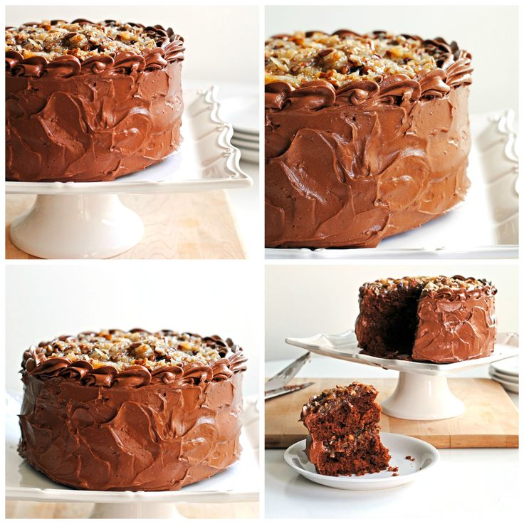 German Chocolate Cake Best Desserts And