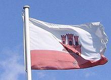 Flag of Gibraltar - Wikipedia, the free encyclopedia