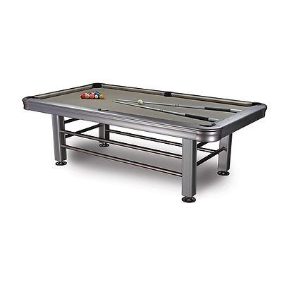 New 8' Tropicana Outdoor Pool Table - Accessories Included