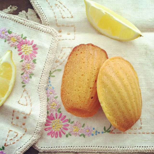 Nothing but Delicious: Food to Share: Lovely Lemon Madeleines and a Winter Picnic