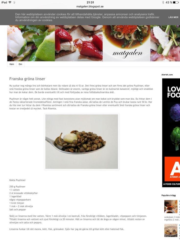 gröna bönor - Recept - Stowr