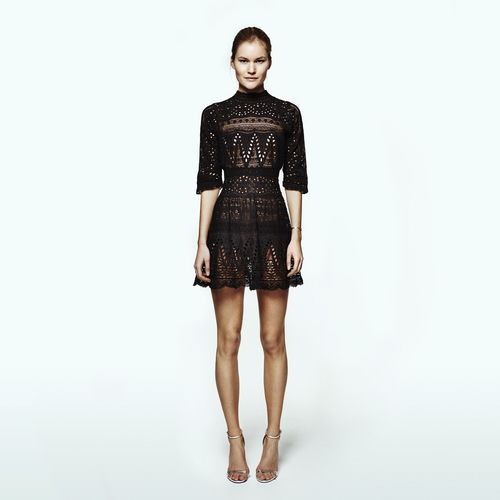 Lovely lace dress!