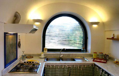 La cucina, con una vista eccezionale :) - Dammuso Anforetta