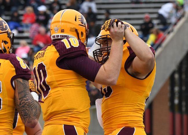 Central Michigan vs. Ohio - 11/15/16 College Football Pick, Odds, and Prediction