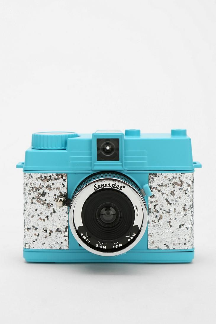 Lomography Glitter Diana Mini Camera #urbanoutfitters