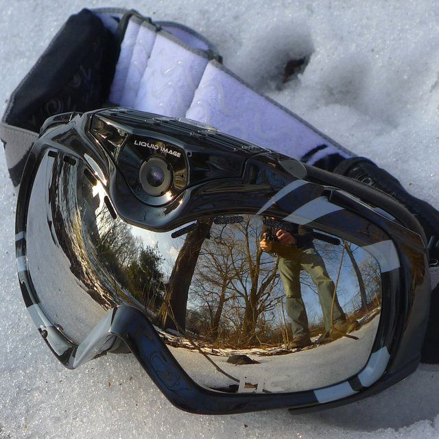 HD Sport Camera Goggles With Waterproof Video Camera – $176