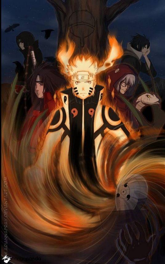 Freakin' awesome Naruto fan art