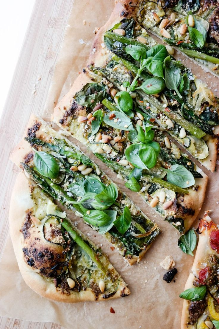Grønn pizza