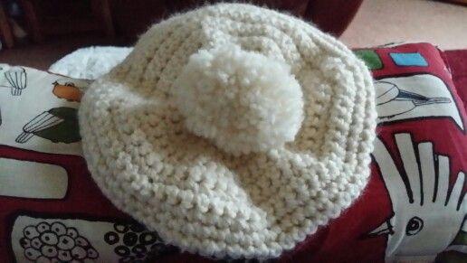 Crochet beret I made