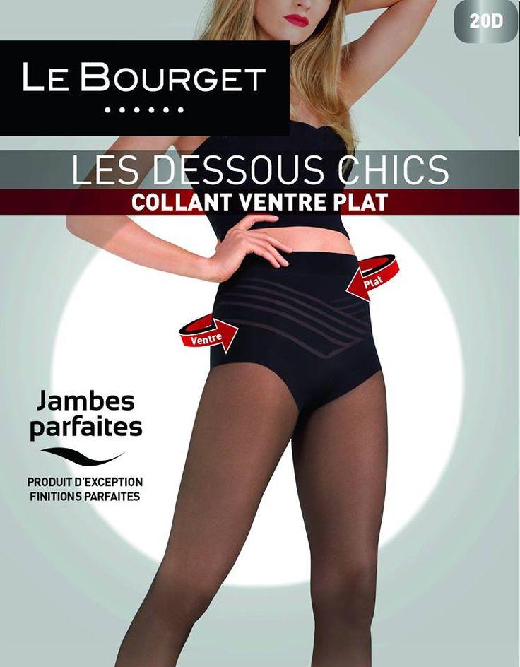 Collant Ventre Plat Les Dessous Chics de Le Bourget : http://www.collant.fr/collant-ventre-plat-dessous-chics-5473-15-3-2.z.fr.htm