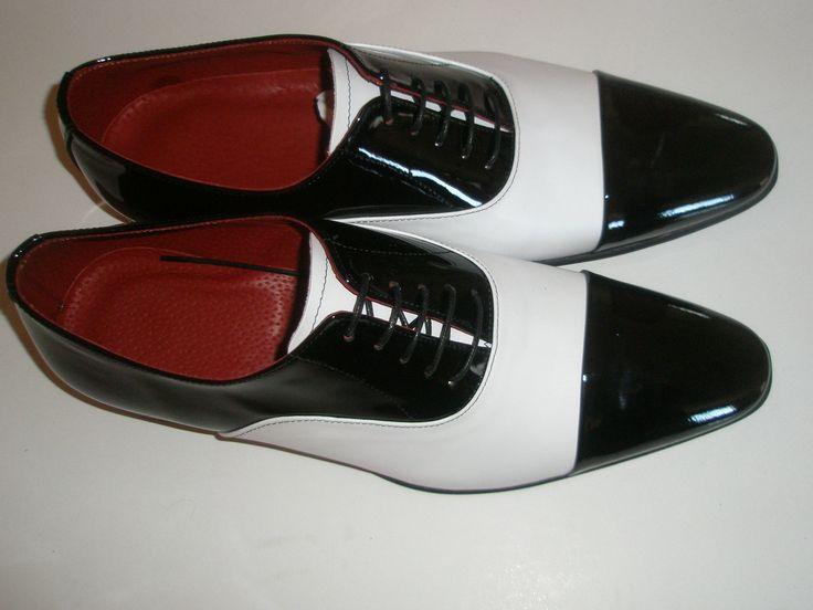 oxfort black+white vikatosshoes.com