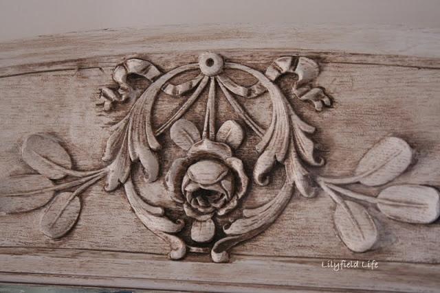 Lilyfield Life: How to Antique Glaze Furniture (recipe for glaze)