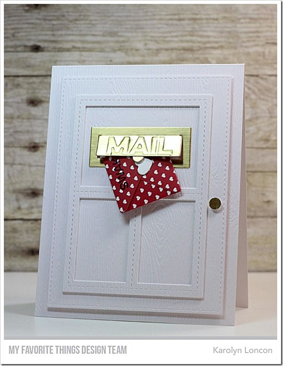 Sending Birthday Wishes Card Kit, Blueprints 29 Die-namics - Karolyn Loncon  #mftstamps