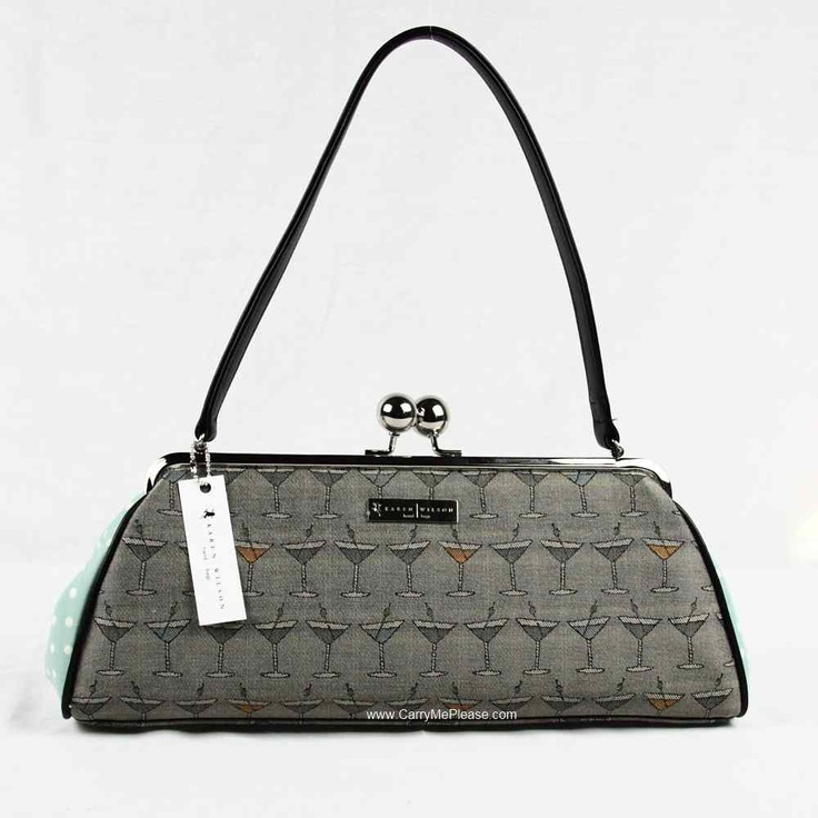 Martini Handbag - Karen Wilson Handbags!