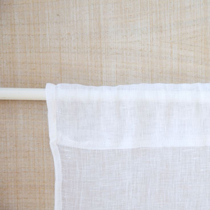 Image 4 of the product SHEER LINEN CURTAIN