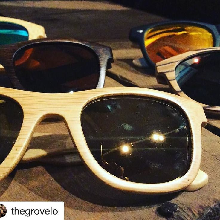 It's sunny! Grab your #woodensunglasses from @thegrovelo or @wateronwaterstreet or BottomofMySleeve.com #couponcode in our bio!  #sun #water #boating #beach #saltlife  #Repost @thegrovelo (@get_repost)  Remember when we needed these Monday?! NOTE can be used for looking hip while driving in pouring rain too