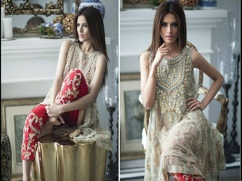 Latest Pakistani Dresses Designs Collection 2017 for Girls – Formal & In...