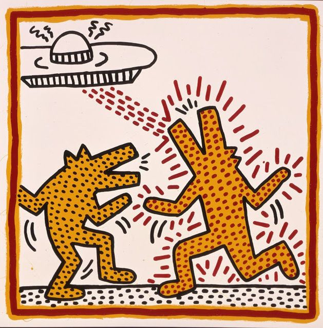 KEITH HARING Untitled, 1982