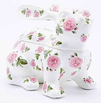 15 best alternative easter gifts images on pinterest easter gift this ceramic floral bunny is designed as a jewellery box but could be used to store easter giftjewellery boxchocolateeggsfillalternativebunnygifts store negle Images