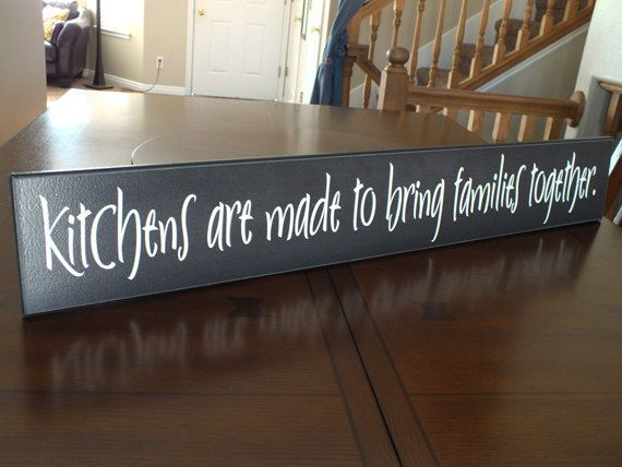 Best 25 kitchen signs ideas on pinterest funny kitchen for Kitchen quote signs