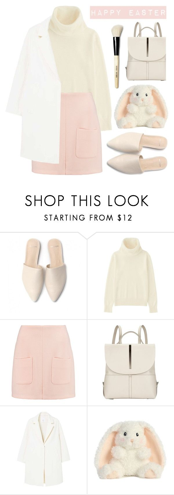 """""""Happy Easter"""" by vazsu ❤ liked on Polyvore featuring Uniqlo, See by Chloé, Kin by John Lewis, MANGO and Bobbi Brown Cosmetics"""