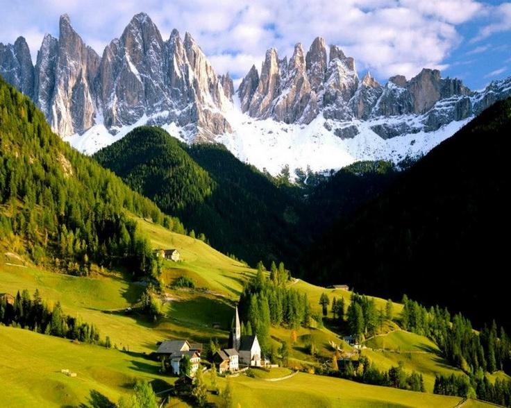 St.Magdalena village, Italy