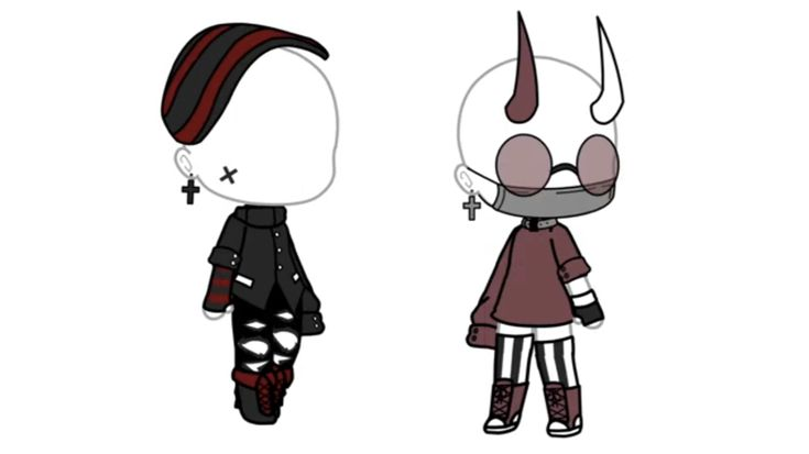 pinpopa florina on gacha life  character outfits