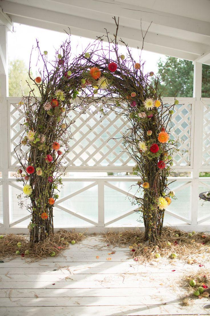 Свадебная арка в стиле Рустик.