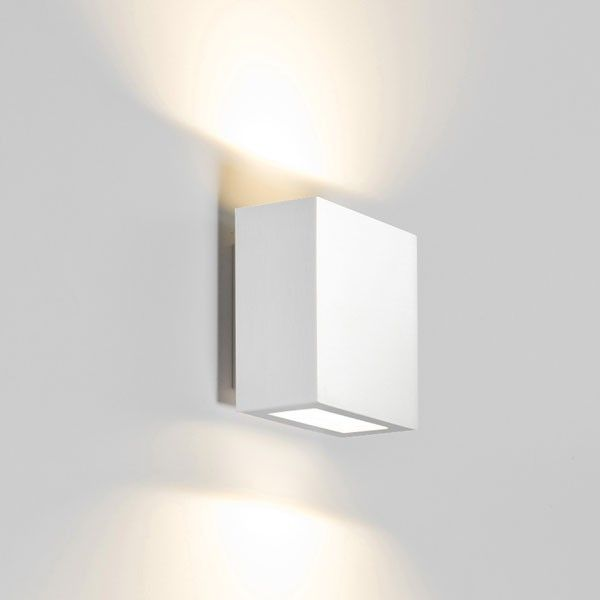 Central Up/Down wandlamp LED aluminium | Wever Ducré