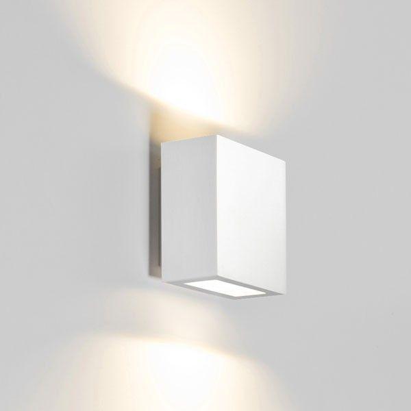 Central Up/Down wandlamp LED aluminium | Wever Ducré