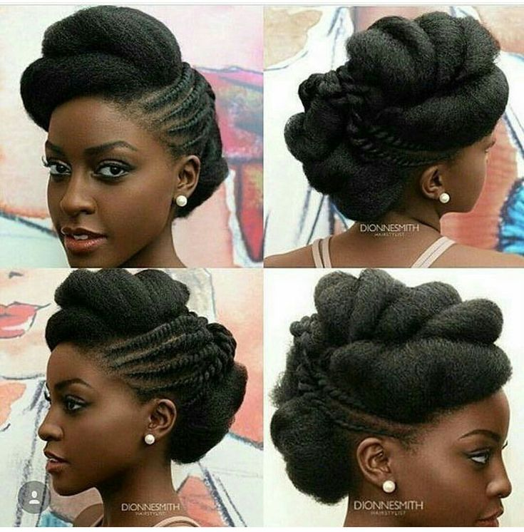 Natural Wedding Hairstyles: NIGERIAN/African Natural Hairstyles For Wedding (Bride