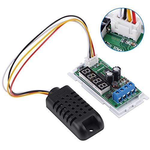 LED Temperature Humidity Sensor, Digit Display RS485 Modbus
