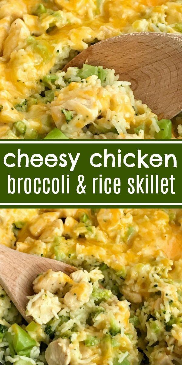 One Pot Cheesy Chicken Broccoli  Rice  One Pot Cheesy -1898